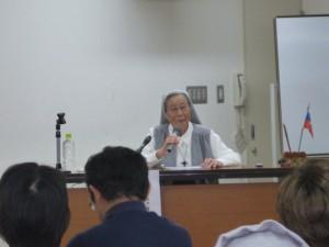 シスター須藤昭子さん 講演