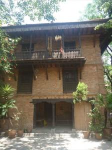 ラビンドラさんの自宅
