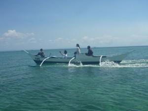 颯爽と走るボートre